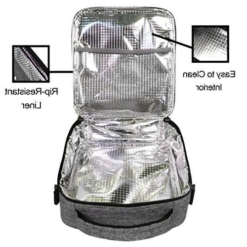 UPPER ORDER Lunch Cooler Bag Larger Greater