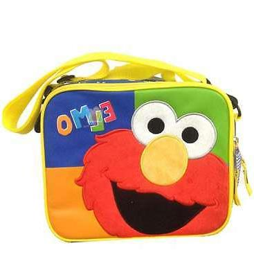 elmo insulated lunch bag