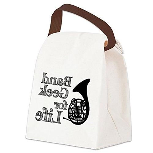 CafePress French Bag - Canvas Lunch Bag Strap