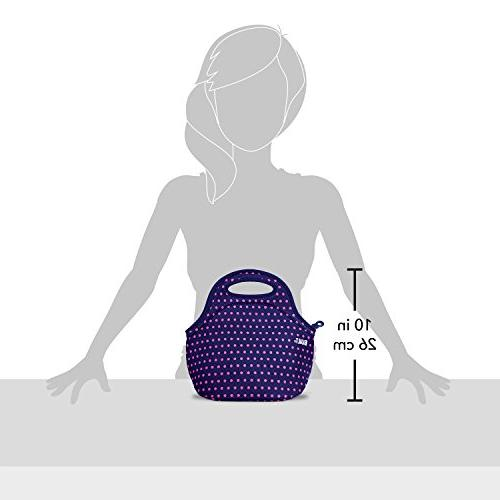 BUILT LB10-MNV Gourmet Mini Tote Insulated and Reusable Snack