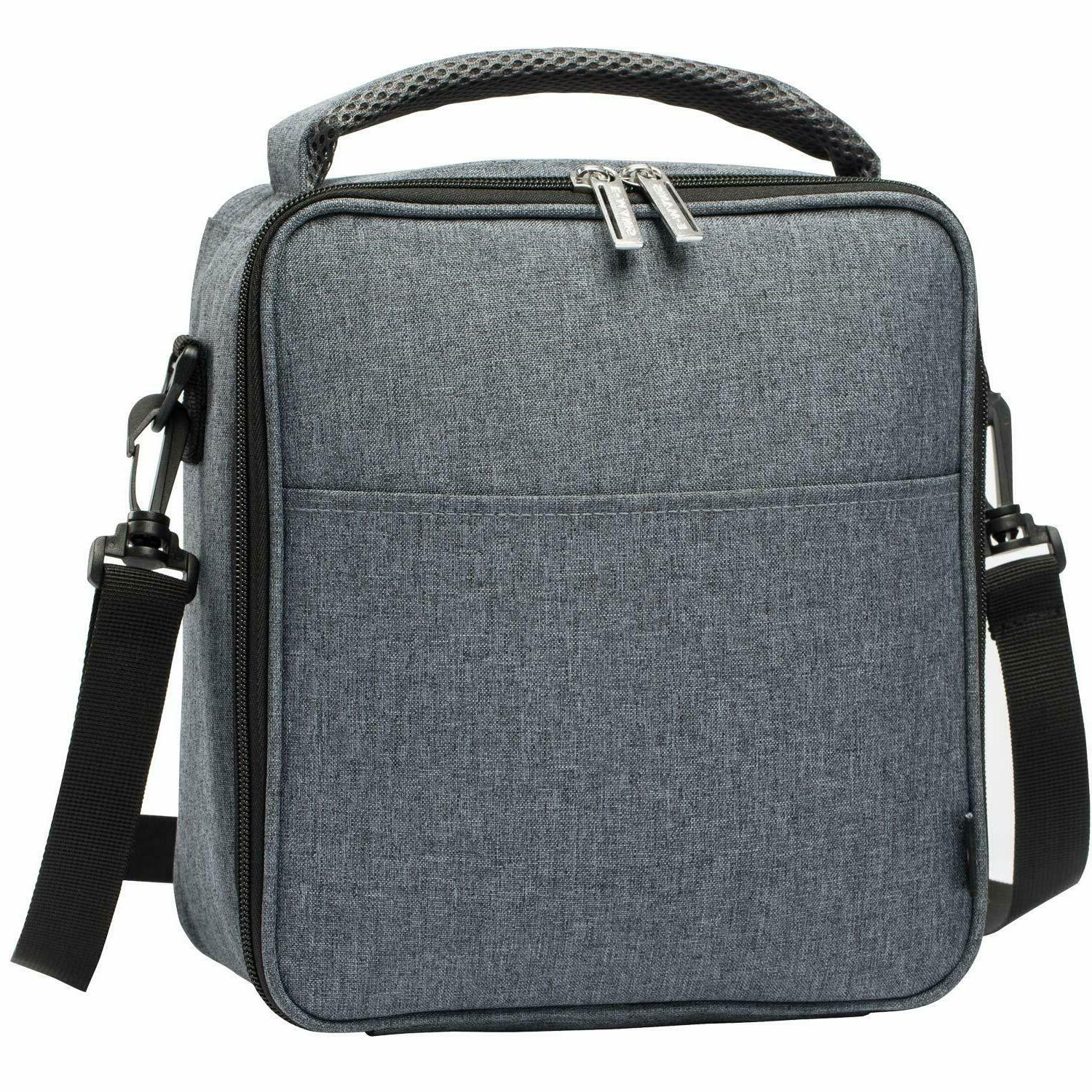 grey e manis insulated lunch bag