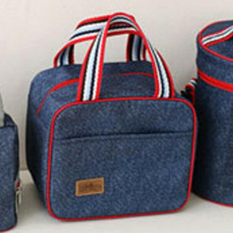insulated cooler lunch bag picnic storage bag