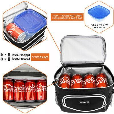 Insulated Lunch for Adults Shoulder