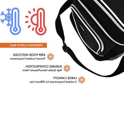 Insulated Dual Shoulder Strap Leakproof