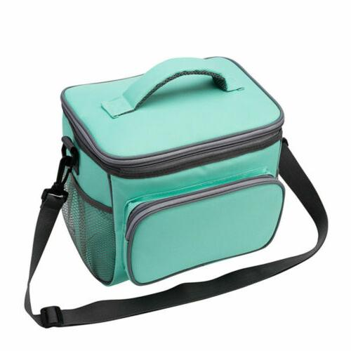 Insulated Lunch Tote Box Thermos Cooler Women Men