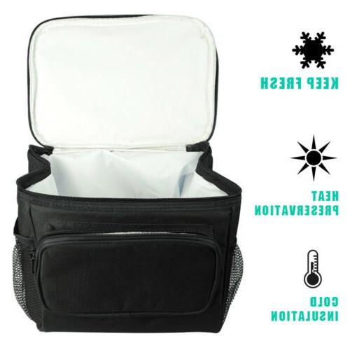 Tote Lunch Box Thermos Cooler Men
