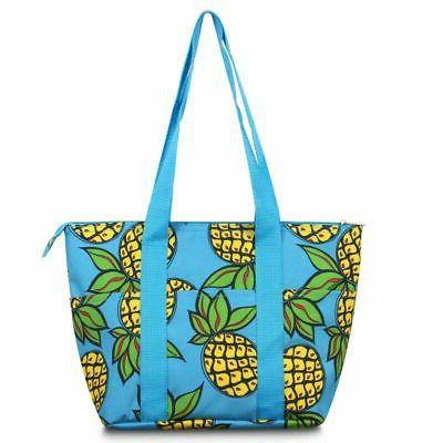 insulated large lunch bag women tote cooler