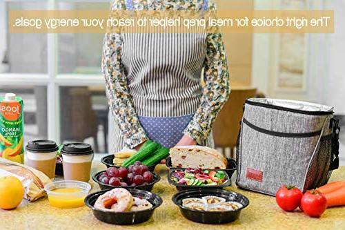 Glotoch Insulated Lunch Box Lunch Bag Men Cooler