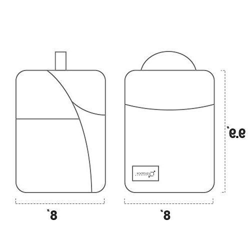 Glotoch Insulated Lunch Box Men Women Children, Bento Water-Resistant Leakproof Cooler for