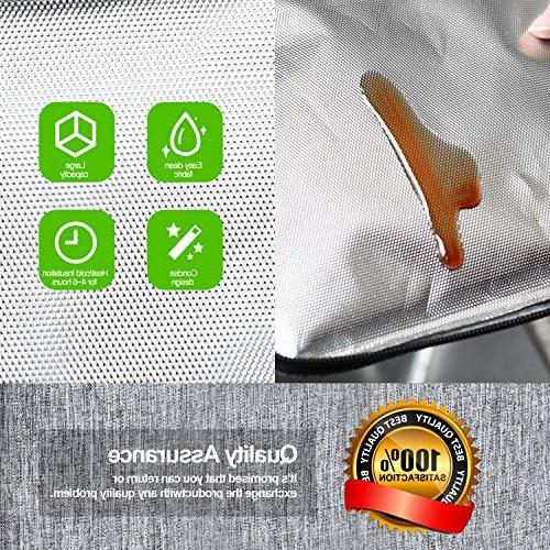 Glotoch Men Children, Bento Bag, Water-Resistant Cooler Bag for