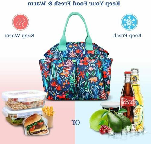 Insulated Bag Totes Cooler Large Box Girl Office