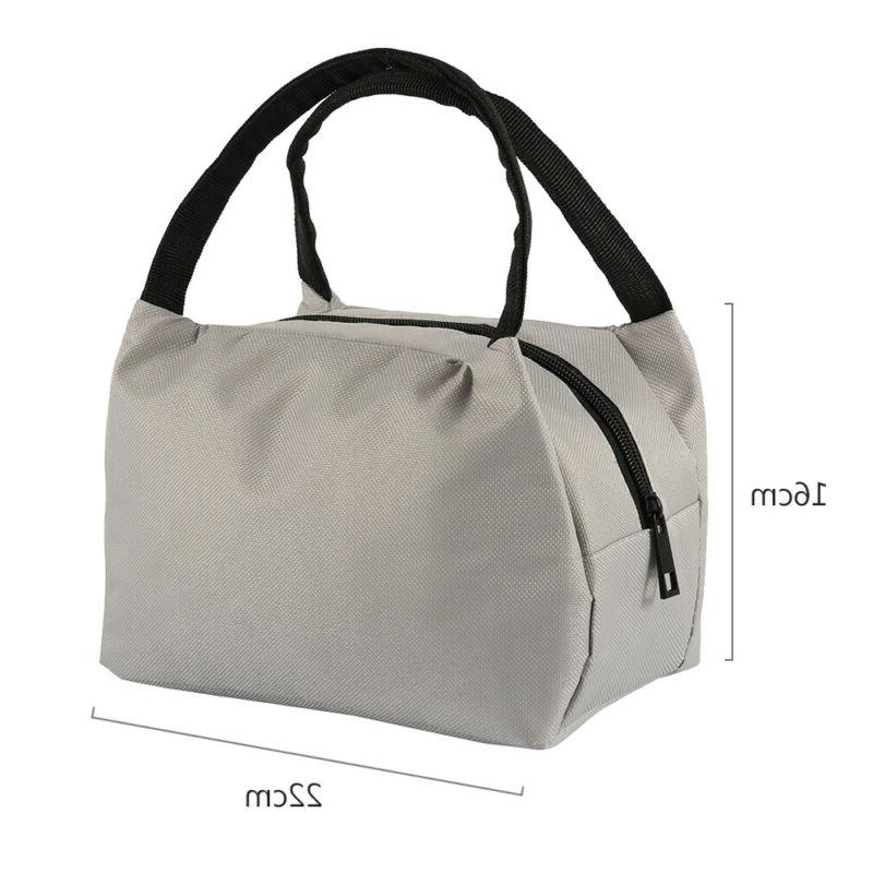 Insulated Small Lunch Work Office School Women