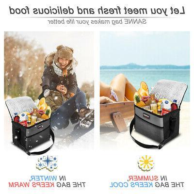 Insulated Bag Box Cooler Men Women Heavy Duty Oxford Waterproof
