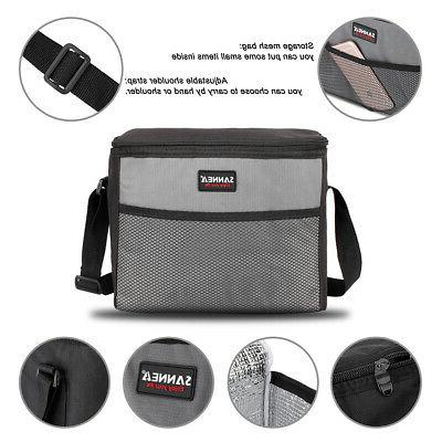 Insulated Cooler for Men Heavy Oxford Nylon Waterproof