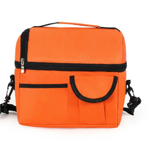 Insulated Bag Box for Men Cooler Hot Cold Adult Tote