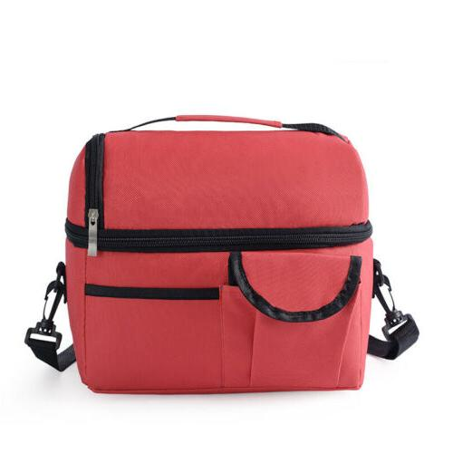 Insulated Box for Men Cooler Hot Cold Tote