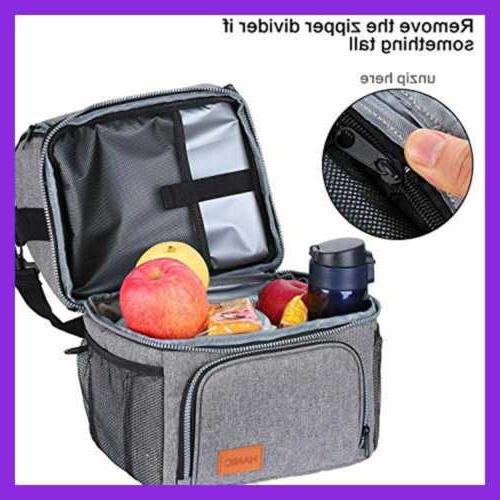 Hanic Lunch For Women Lunchbox W Strap Double