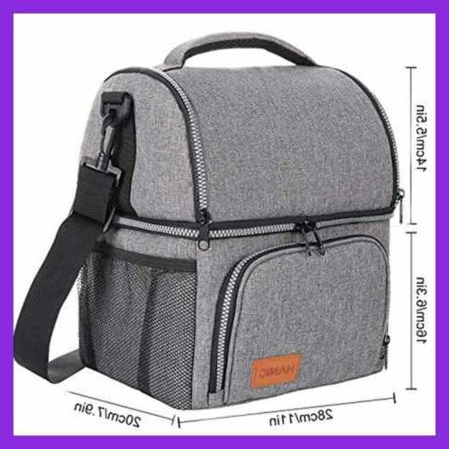 Hanic Insulated Lunch Bag For Women Adult Strap