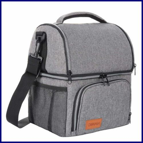 Hanic Insulated Bag For Men Women Adult Strap Double