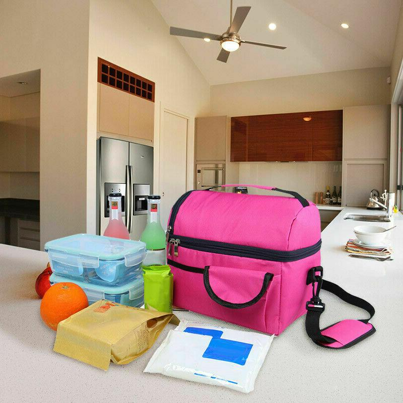 Insulated Bag Cooler Adults Lunch Box