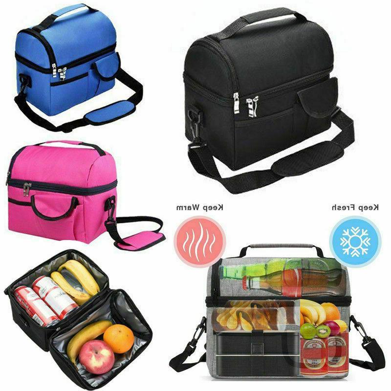 insulated lunch bag for men women kids