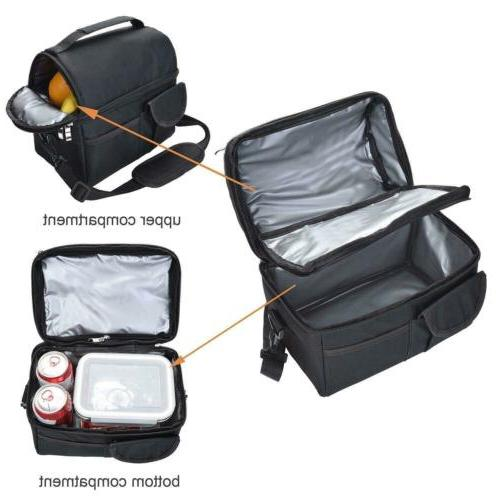Insulated Lunch Cooler Men Kids Lunch Box