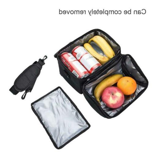 Insulated Lunch Women Kids Thermos Cooler Adults Tote Lunch