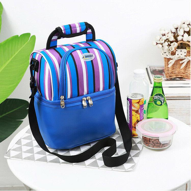 Insulated bag: capacity Double Lunch