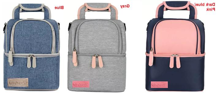 insulated lunch bag large capacity highquality double
