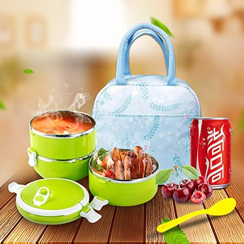 Portable Cooler Tote Reusable Lunch for Flowers