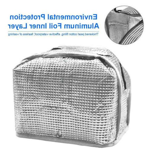 Insulated Cooler Women Kids Picnic Food Box Tote Bags