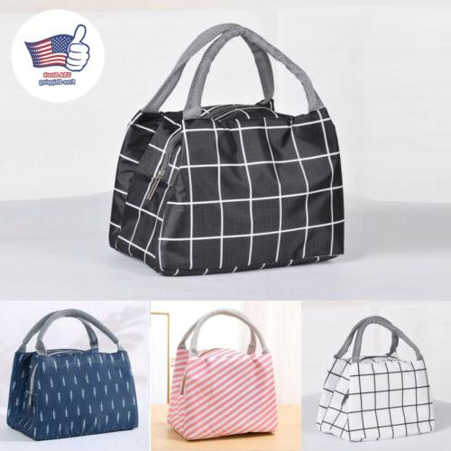 insulated lunch bag thermal cooler women kids