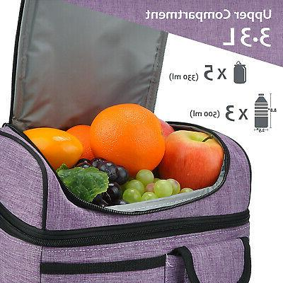 Insulated Bag Cooler 2 Leakproof Thermal