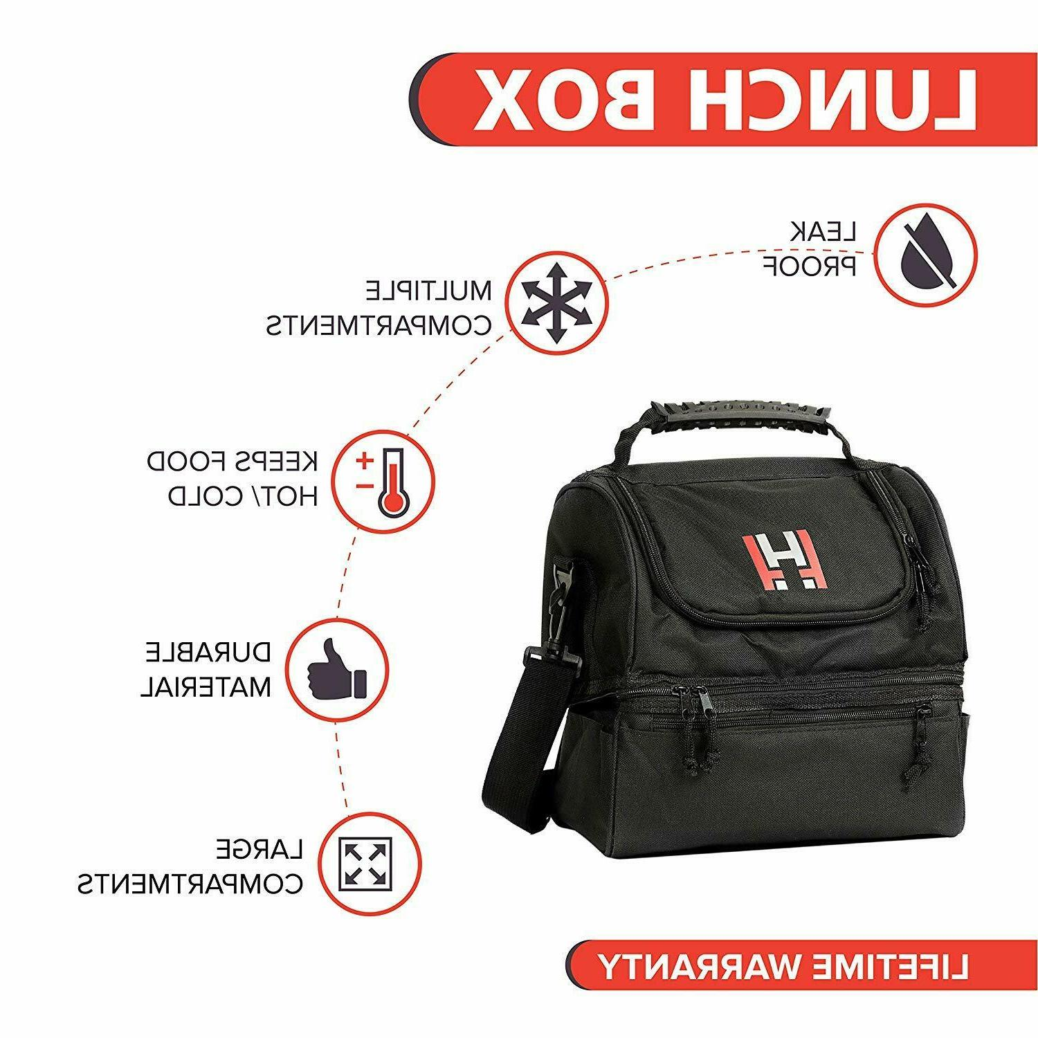 Insulated Lunch Box - Thermal Food Container Men &