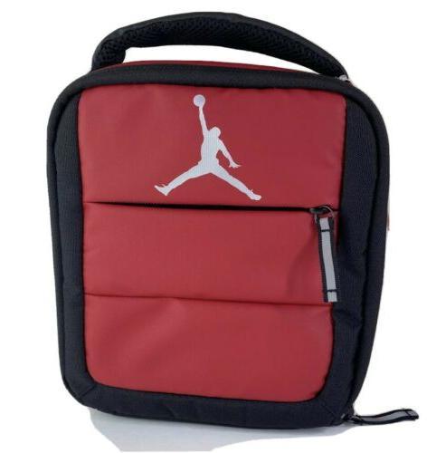 jordan jumpman lunch box bag insulated red