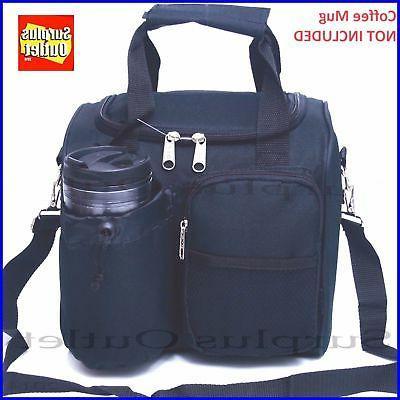 Black Bag With Adjustable Removable