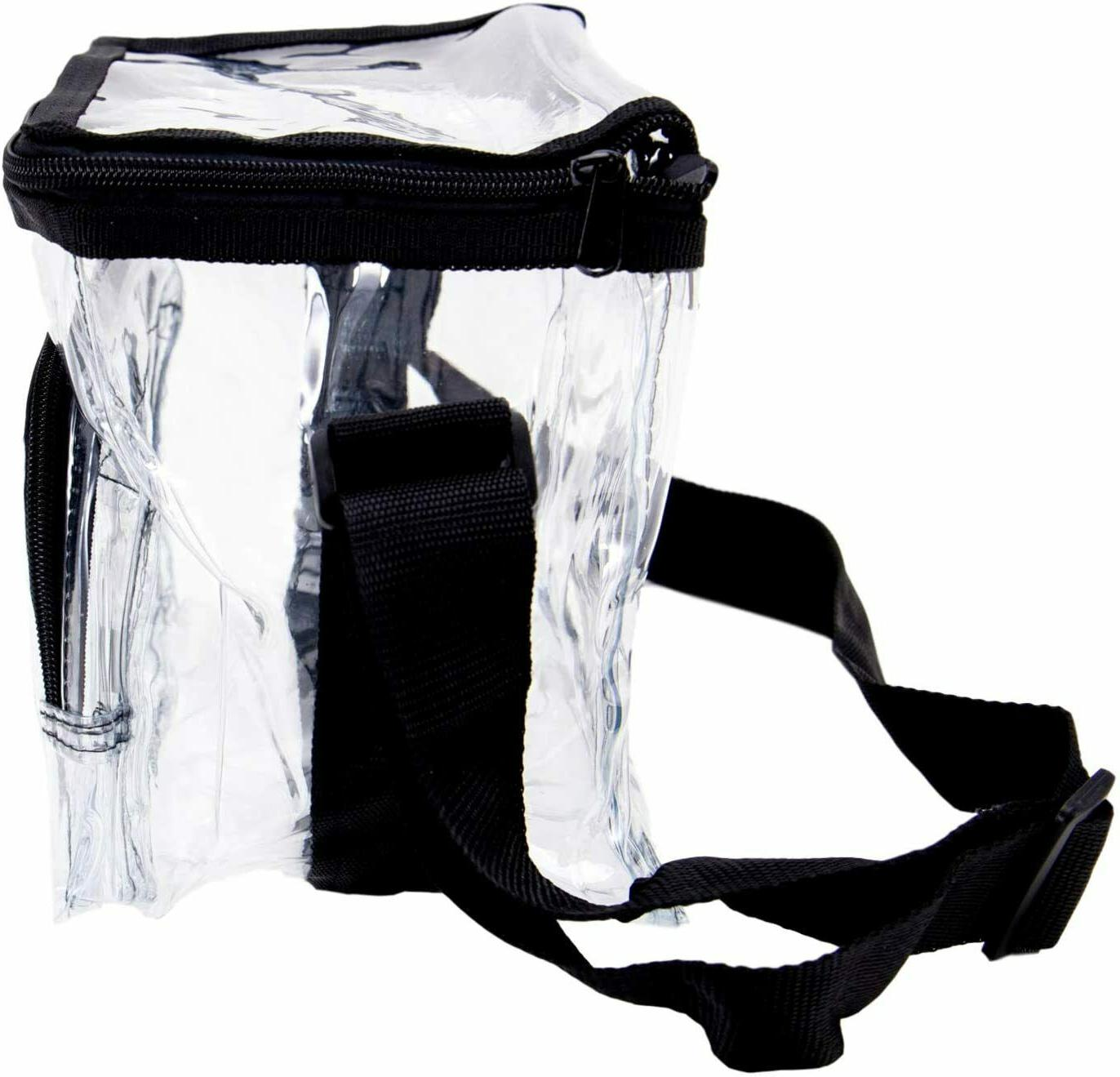 Large Clear Lunch Strap