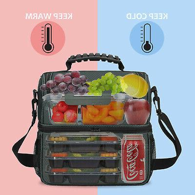 Large Insulated Lunch Totes Cooler for Men Adult