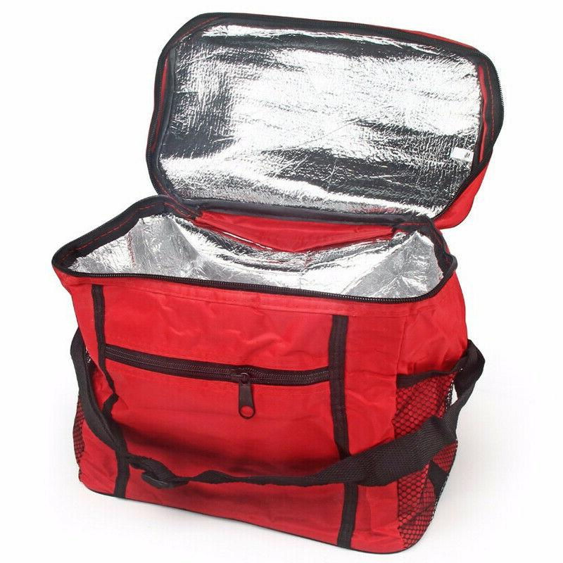 Large Insulated Thermal Lunch Bag Cooler Picnic Lunch