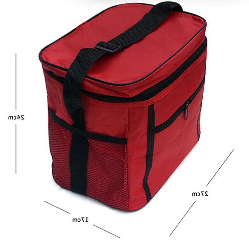 Large Insulated Thermal Bag Cooler Outdoor Picnic Box