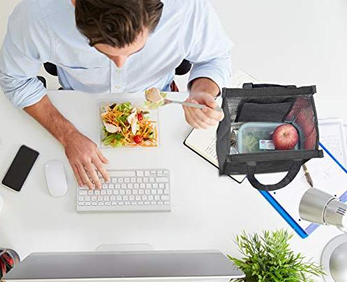 Lunch Bag, VAGREEZ Insulated Lunch Adult For Men or Women