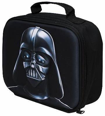 Lunch Bag Star Wars Darth Vader 3D Image School Travelling F