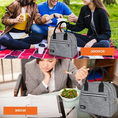 Lunch Thermal Tote Work Picnic