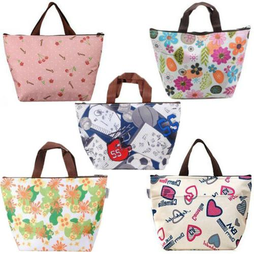 insulated lunch bag tote thermal box cooler