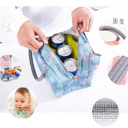Lunch Tote Thermal Box Travel Picnic