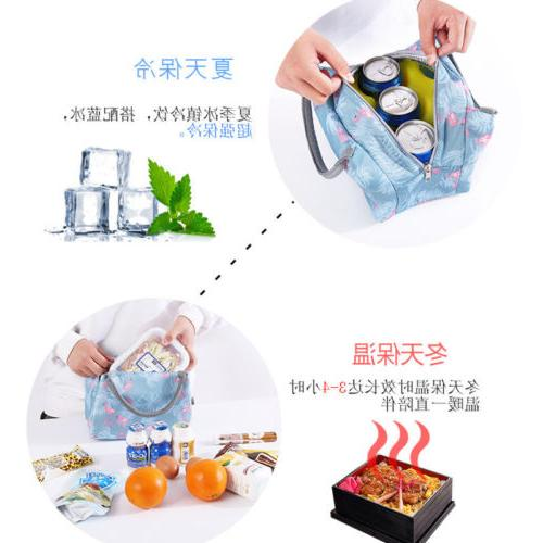 Lunch Bag Tote Thermal Travel Picnic Bag