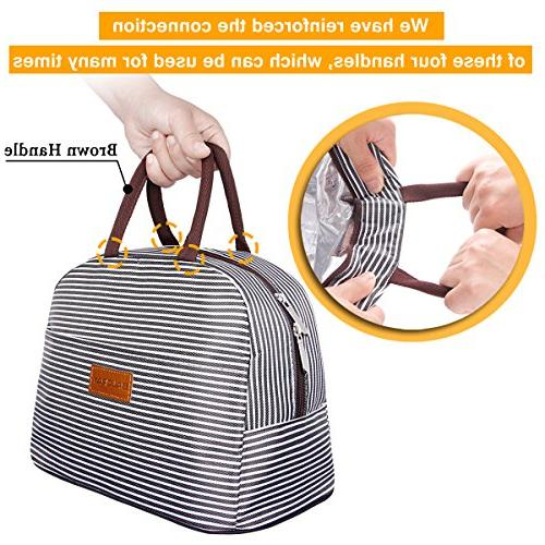 BALORAY Bag Holder Insulated Lunch Bag for