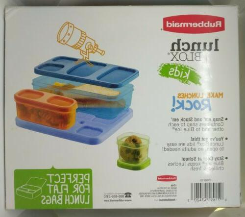 Rubbermaid Lunch Lunch Blue inside perfect lunch
