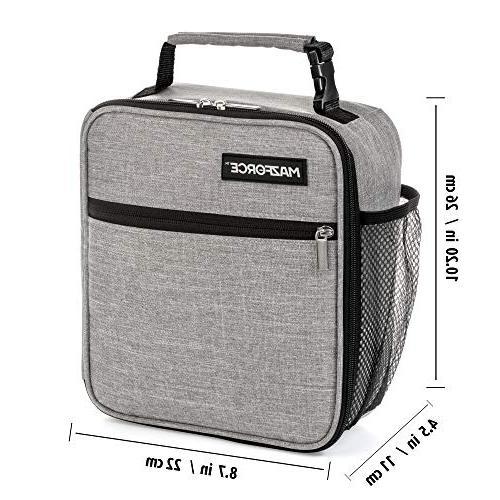 MAZFORCE Original Insulated Bag - Tough Spacious Lunchbox Seize Your Day