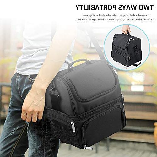 Reusable Spacious Deck Large Bags with Adjustable Shoulder Strap Adults Men